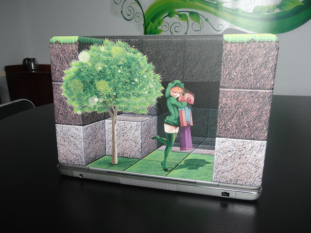3D sticker for laptop skinminecraft  Flickr  Photo Sharing