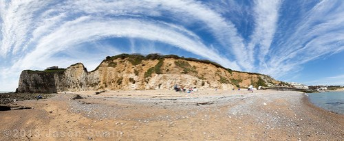 Freshwater Bay Cloudscape Panorama