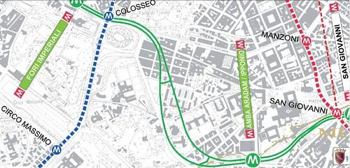 ROMA ARCHEOLOGIA e BENI CULTURALI: Celio, rione in allarme per gli scavi della Metro C: «Spiegateci i lavori», CORRIERE DELLA SERA (23/04/2013). by Martin G. Conde