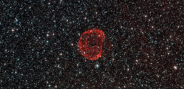 Hubble Sees the Remains of a Star Gone Supernova