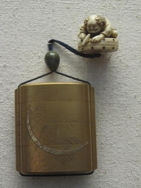 Japanese netsuke and inro