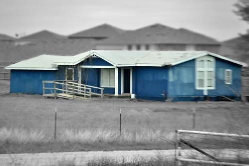 79/365 blue house