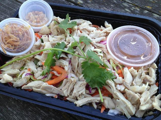 Chicken cabbage salad - Dinosaurs