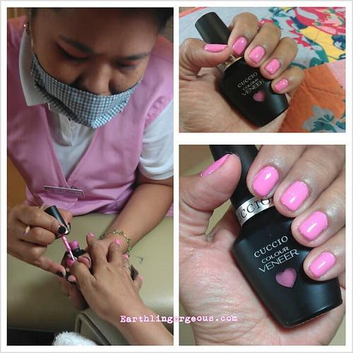 Cuccio Colour Veneer Gel Nail Polish @ California Nails & Day Spa