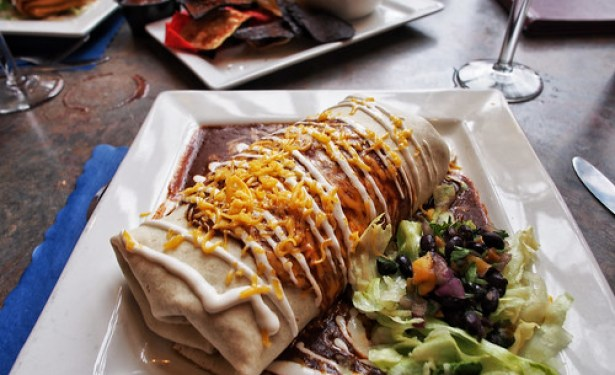 Black Bean Vegetable Burrito