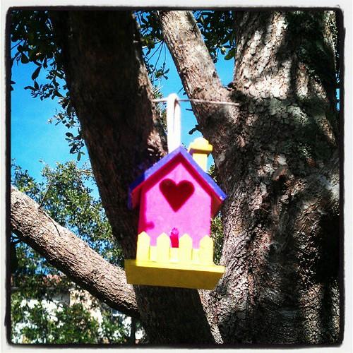 Birdhouse complete
