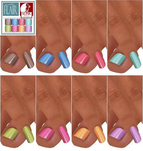 Flair - Nails Set 42