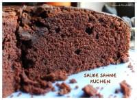 Saure Sahne Schoko Kuchen  Rezepte Suchen