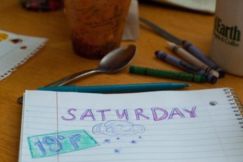 Saturday's at Good Earth