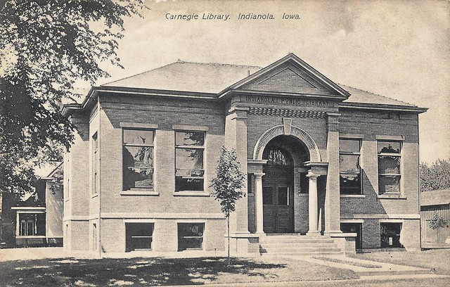 Indianola, Iowa, Public Library, Carnegie  Flickr  Photo