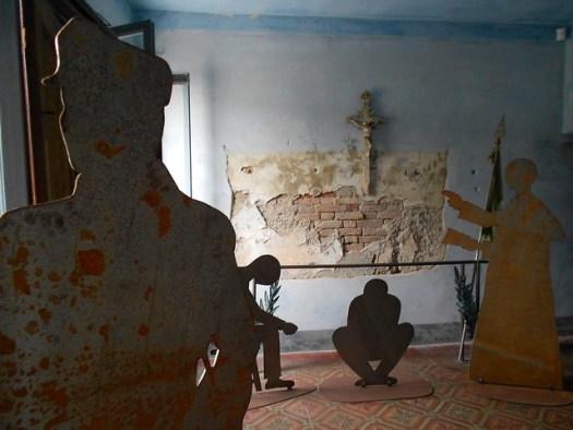 dentro il Sacrario a Villamarzana