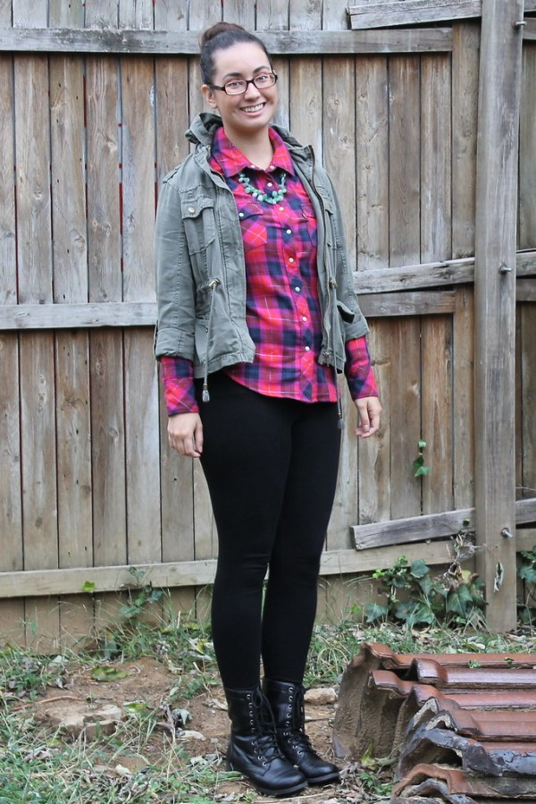Utility Jacket and Plaid for Fall