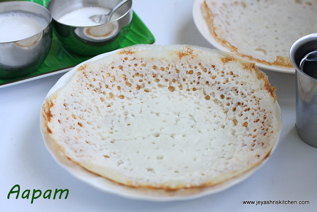 AAPAM RECIPE  APPAM RECIPE WITHOUT YEAST  Jeyashris Kitchen