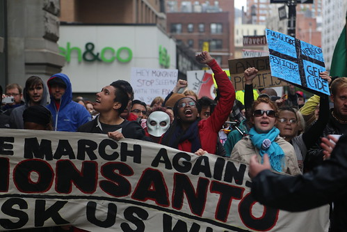 March Against Monsanto, NYC, May 25, 2013