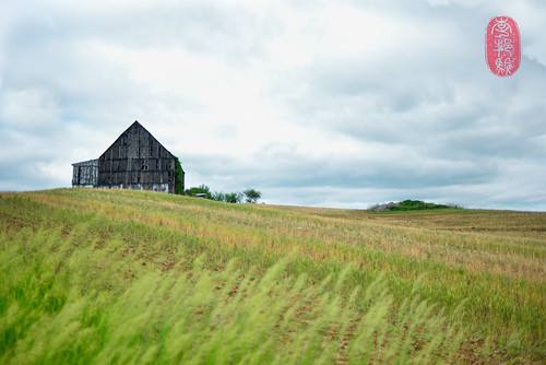 An old barn.