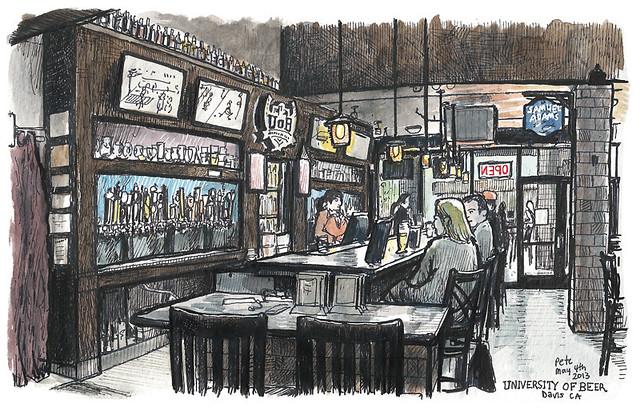 university of beer, davis