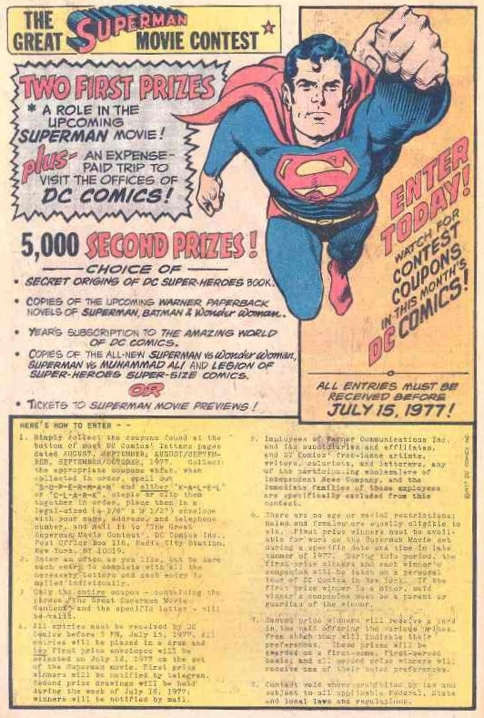 Great Superman Movie Contest