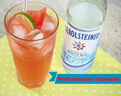 Watermelon Limeade | Licious Food  #Drinks #Beverage  #ThirstyThursdays
