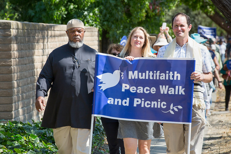 Palo Alto,CA Multifaith Peacewalk  - CNV 2016 (8)