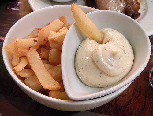 Belgian Frites in the Cambrinus