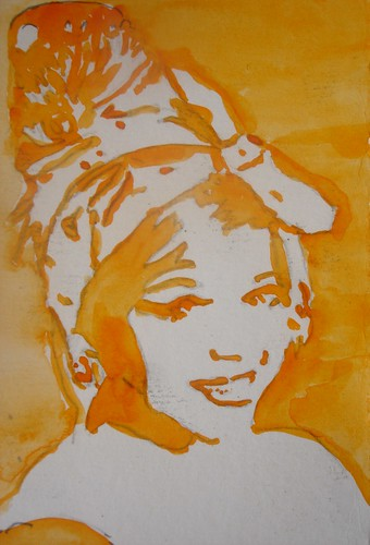 Watercolour portrait #1