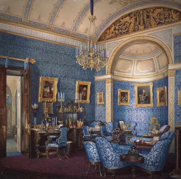 Winter Palace Of Imperial Russia