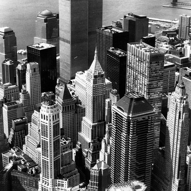 Manhattan-from-above