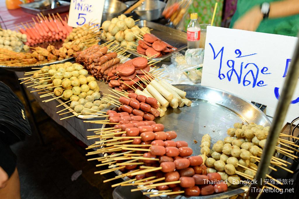 曼谷席娜卡琳火車鐵道夜市 Train Night Market Srinakarin 09
