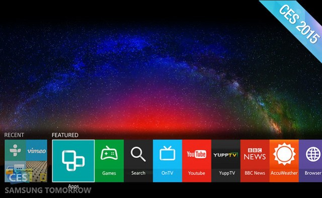 Samsung redefine el SmartTV con Tizen