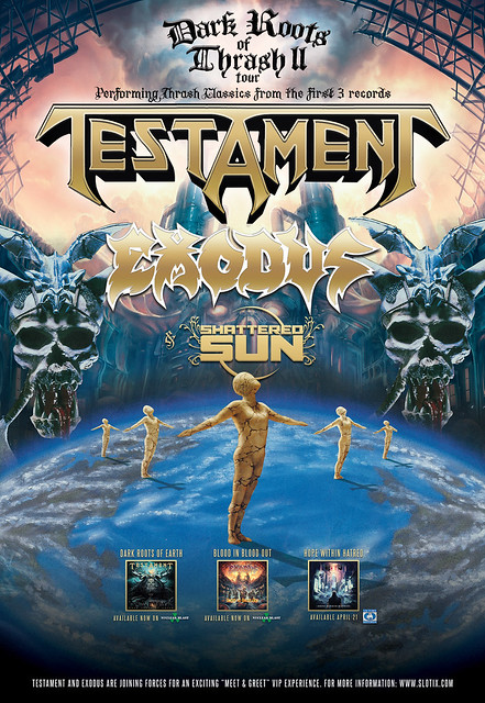 Testament and Exodus at the Fillmore Silver Spring