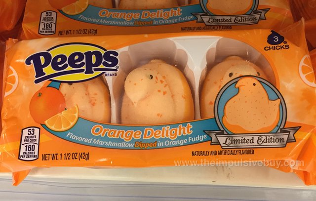 Peeps Limited Edition Orange Delight