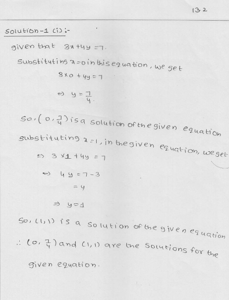 RD Sharma Class 9 Solutions Chapter 13 Linear Equations in Two Variables 5.