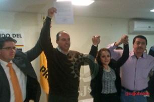 Oficializa candidatura de Calolo a la gubernatura por las izquierdas