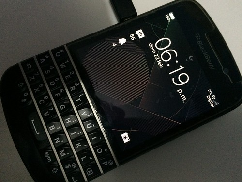 BlackBerry Q10 actualizado