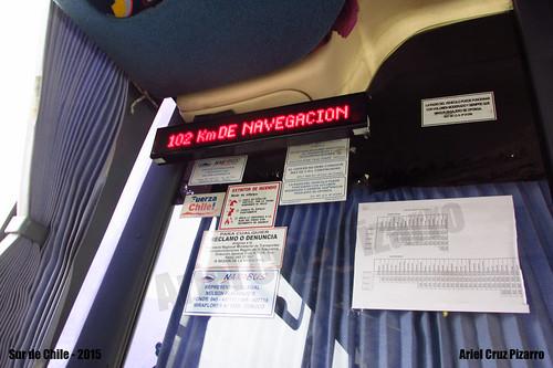 Exceso de Velocidad - Bus interurbano