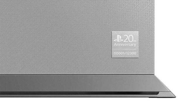 PS4 20 aniversario Sony