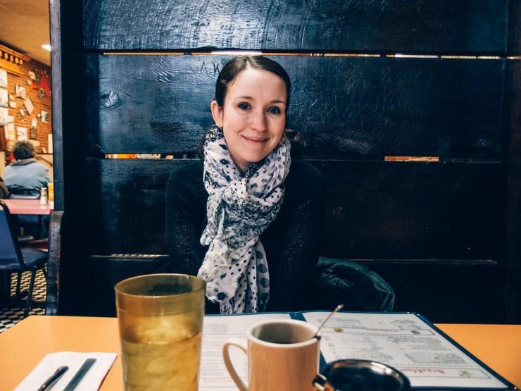 Sarah at Duncan's
