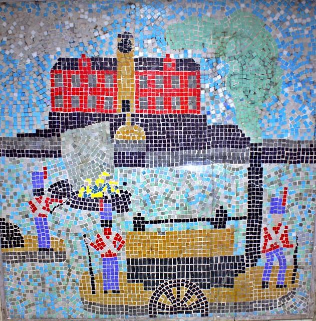 Newcastle's Keelmen, Jesmond's Subway Mosaics