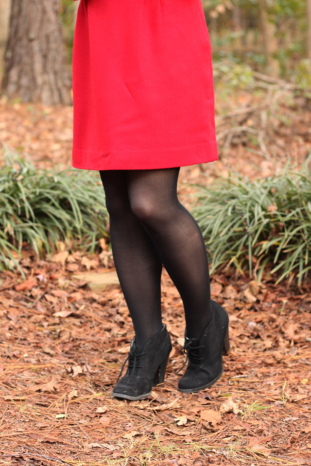 Outfit Gold Sequined Crop Top Red Pencil Skirt and