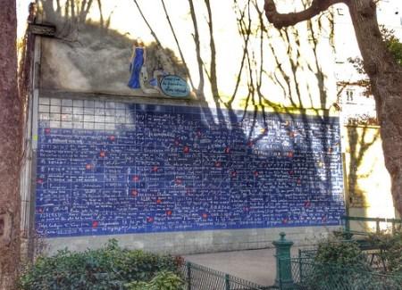 Muro dei Ti Amo, Parigi