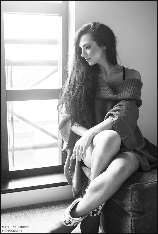 Leica M8 B&W Portrait