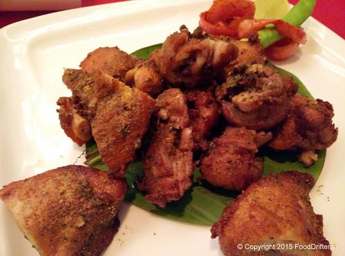 Purani Dilli Fried Chicken Kebab