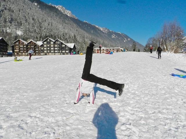 sciare a Chamonix