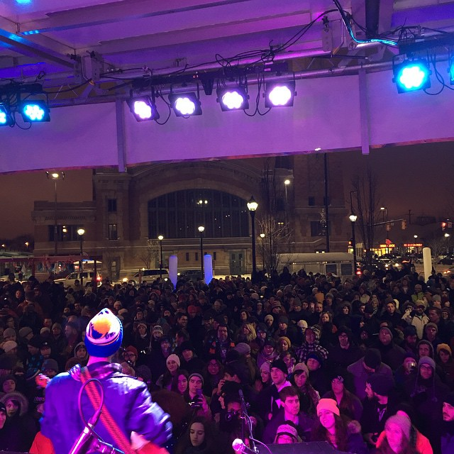 What a great time at Brite Winter last night! Now we know what it would be like to play for stadium size crowds. We love all 60,000 of you.