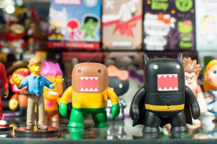 Domo Toys at Forbidden Planet Union Square New York