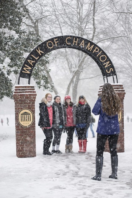 Snow Day @ Ole Miss 2015