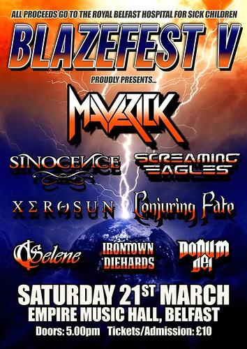 Poster for Blazefest 5