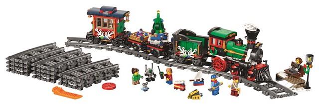 樂高迷期待已久的夢幻禮物!聖誕火車 出發啦~ LEGO 10254 Winter Holiday Train   玩具人Toy People News