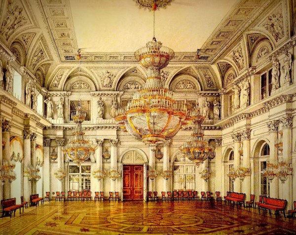 Views Winter Palace Of Imperial Russia 5
