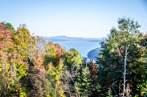 Lake Jocassee from Bad Creek Overlook-002